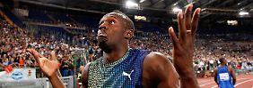 Der schnellste Mann der Welt: Usain Bolt.