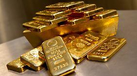 Anlegen in Zeiten der Krise: Gold bleibt für viele der sichere Hafen