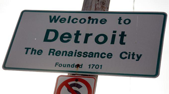 Detroit: Erst die Insolvenz, dann die Renaissance?