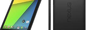 Mit dem zweiten Nexus 7 kommt Android 4.3: Google stellt neues Tablet vor