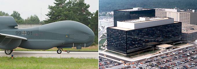 Euro-Hawk, NSA-Hauptquartier: Es gibt Verbindungen.