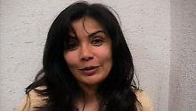 Beltrán bei ihrer Verhaftung, 2007 in Mexiko.