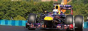 Bereit für die Formel-1-Hitzeschlacht: Vettel setzt die erste Ungarn-Bestzeit
