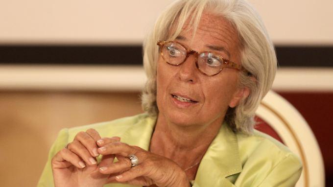 IWF-Chefin Christine Lagarde sieht die USA-Wirtschaft wieder auf Wachstumskurs.