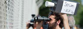 Snowdens Vater appelliert an Obama: Maaßen sieht keine Fehler und lobt die NSA