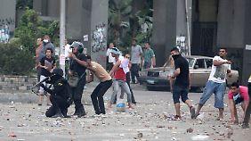 """""""Das Land brennt"""": Unruhen fordern Tote in Kairo und Alexandria"""