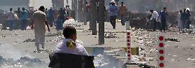 Es herrscht Chaos auf den Straßen Kairos - doch die Muslimbrüder weichen nicht zurück.