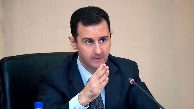Syriens Machthaber Assad: Seit Mitte Juni läuft eine Offensive in der südsyrischen Provinz Daraa.