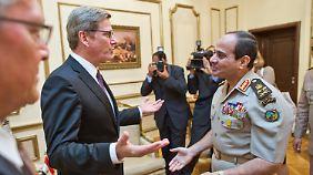 """Ägypten droht neue Gewaltwelle: Westerwelle spricht von """"sehr explosiver Lage"""""""