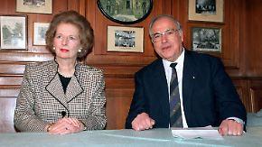 Kohls Geheimnis mit Thatcher: Ex-Kanzler wollte Türken loswerden