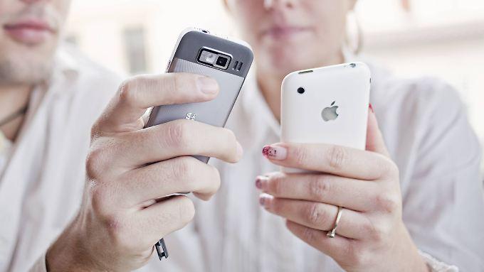 Smartphones stellen mitlerweile 62 Prozent aller mobilen Geräte in Deutschland.