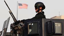 Vor vielen Botschaften gilt größte Vorsicht, wie hier vor der US-Vertretung in Bahrain.