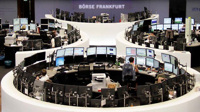 Aktienmarkt steht unter Abgabedruck.