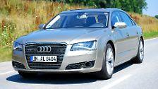Audi A8 lang W12: Lang, lang mit Zwölfen
