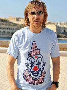 In Duisburg am Start: David Guetta.