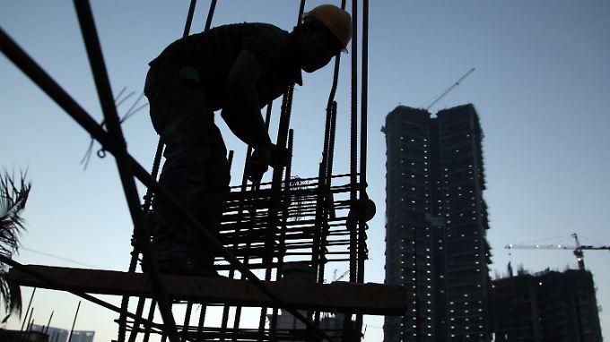Mumbai ist Indiens Handelsmetropole. Doch auch hier schwächt sich das Interesse der Investoren langsam ab.