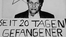 Schleyer während der Entführung 1977.