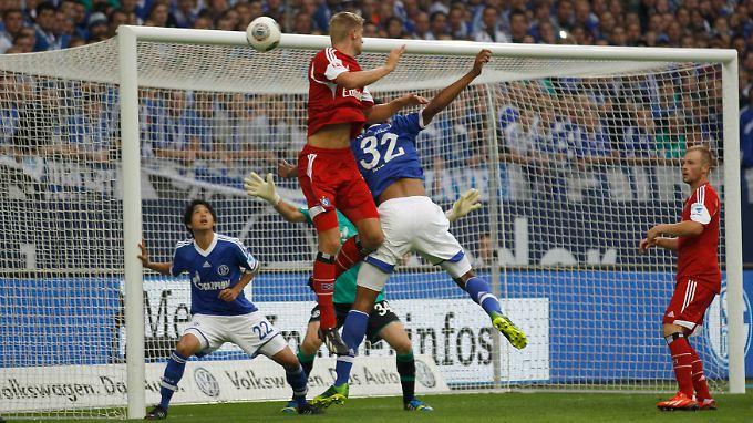 Lasse Sobiech köpfte den HSV zum 3:2. Aber auch die zweite Führung reichte nicht für drei Punkte.