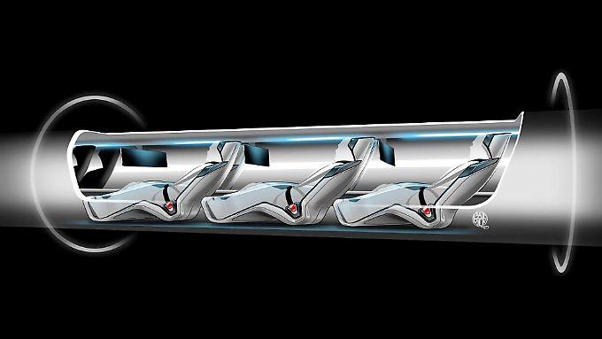 """""""Hyperloop"""" schneller als Flugzeug: Ist Reisen bald in Schallgeschwindigkeit möglich?"""