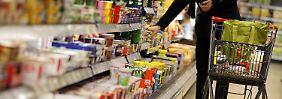 Die Lebensmittelpreise haben angezogen.