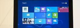 Der Countdown für den Windows 8.1-Start läuft: Die neue Version des Betriebssystems soll am 18. Oktober zum Download bereit stehen. Foto: Microsoft