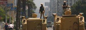 """Islamisten kündigen """"Freitag der Wut"""" an: In Ägypten stehen Panzer bereit"""