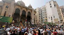 Deutschland prüft Rüstungsexportstopp für Ägypten: Islamisten trauen sich nicht aus Moschee