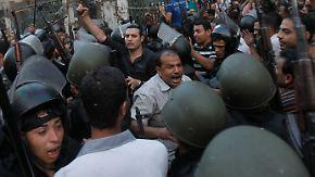 Moschee in Ägypten zwangsgeräumt: Militär will weitere Proteste verhindern