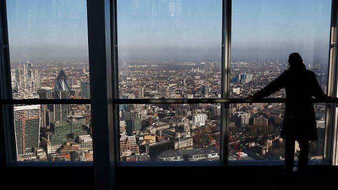 Eines der weltweit wichtigsten Finanzzentren: Die City of London.