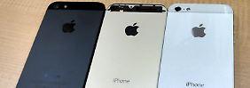 Apples Smartphone im dezenten Gold-Kleid: Champagner-iPhone stellt sich Vergleich