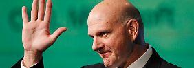 """""""Ich liebe dieses Unternehmen"""": Microsoft-Chef Ballmer gibt auf"""