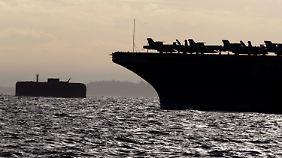Die USA verstärken ihre Kräfte im Mittelmeer.
