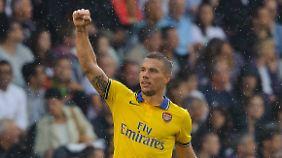 Auch Podolski will bleiben.