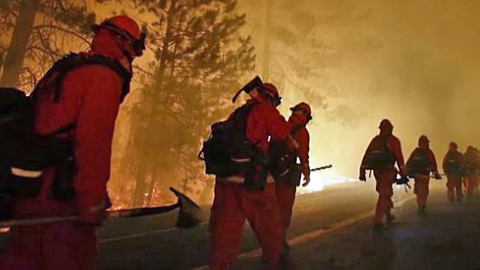 Yosemite National Park in Flammen: San Francisco ruft den Notstand aus