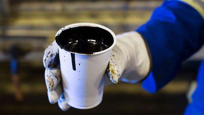 Immer wertvoller - Öl wird deutlich teurer.