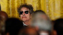 Ein bisschen kauzig vielleicht, aber erfolgreich damit: Bob Dylan.