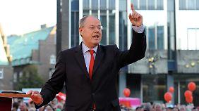 Endspurt vor Bundestagswahl: Rot-Grün beschwört die Wähler