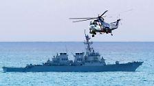 Die Streitmacht formiert sich: Was die USA gegen Syrien aufbieten