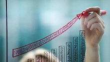 Sie kosten wenig Gebühren und sind transparent: Börsengehandelte Indexfonds - sogenannte ETFs - sind attraktive Produkte. Allerdings sind sie nicht immer besser als gemanagte Fonds. Foto:Franziska Koark