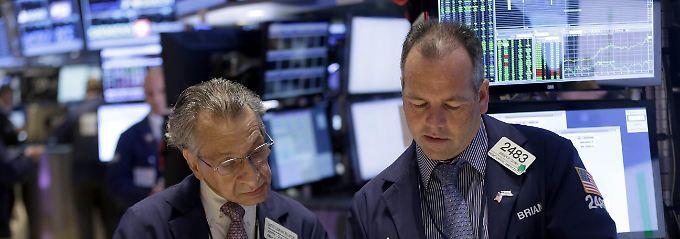 """""""Mäßig bis moderat"""": Die US-Wirtschaft wächst immerhin."""