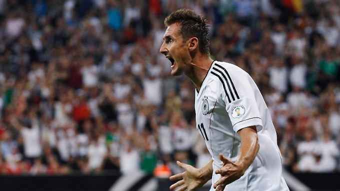 Miroslav Klose hat ein Stück deutsche Fußball-Geschichte geschrieben.