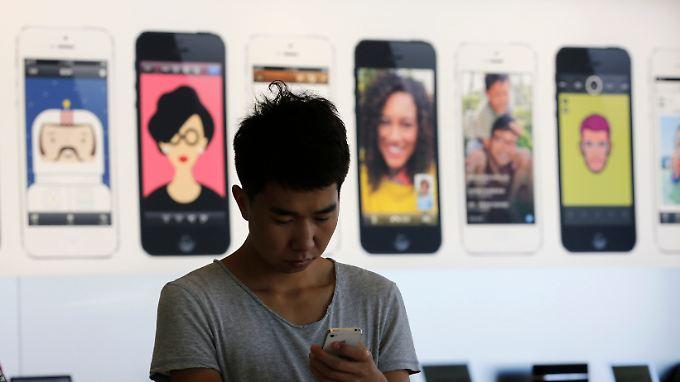 Apple liegt in China nur auf Platz sieben unter den Smartphoneherstellern.