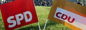 Pläne ohne Steinbrück: SPD liebäugelt angeblich mit Großer Koalition