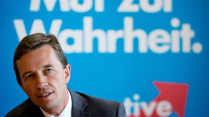 Bernd Lucke, Chef der AfD.