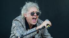 Bob Geldof setzt sich oft für Charity-Events ein.