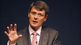Konzernchef Thorsten Heins sucht nach einer Zukunft für das Unternehmen.