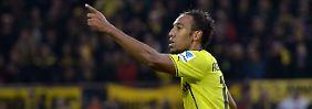 Da geht's lang: Aubameyang bereitete den Weg für den Dortmunder Sieg.