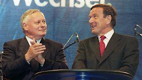 Polarisiert: 1998 wurde Oskar Lafontaine Finanzminister in der rot-grünen Koalition, sieben Jahre später trieb er die Fusion von PDS und WASG voran.