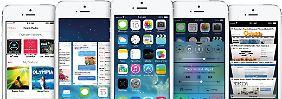 Update für iPhone, iPad und iPod touch: So kommt iOS 7 auf iPhone und iPad