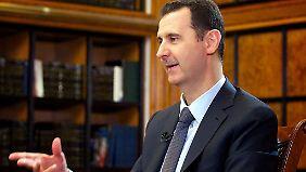 Assad sieht sich in einem Krieg mit Dschihadisten.